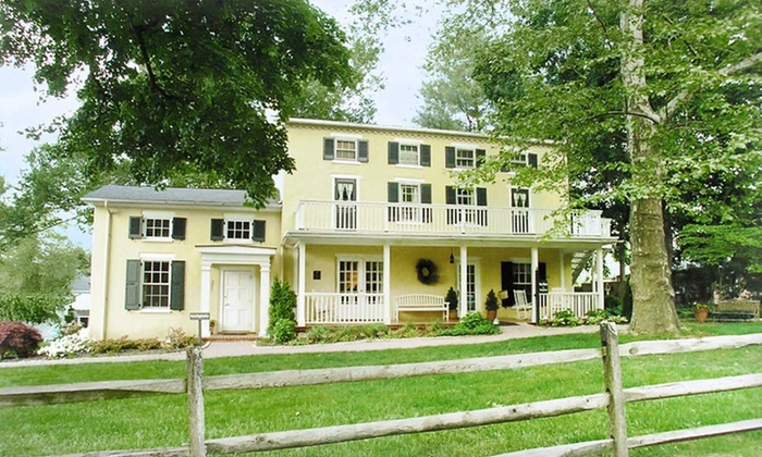 Fairville Inn Bed & Breakfast - Chadds Ford, PA: 1- or 2-Night Stay for Two at Fairville Inn Bed & Breakfast in Chadds Ford, PA