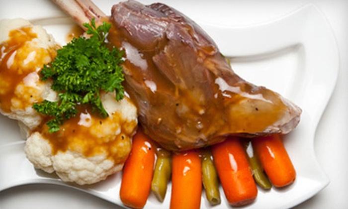 Andalous Meditarranean Grill - Las Colinas: $10 for $20 Worth of Mediterranean Food at Andalous Mediterranean Grill