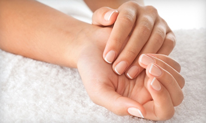 Nails by Arianna at Tresorle Salon and Spa - Van Ness Extension: One or Three Mani-Pedis and Salt Scrubs at Nails by Arianna at Trésorle Salon and Spa (Up to 54% Off)