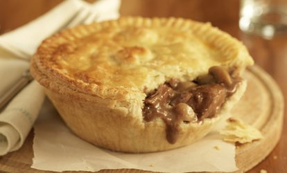 image for Two-Course Pie Meal with Dessert and Optional Wine for Two or Four at The Old Crown (Up to 67% Off)