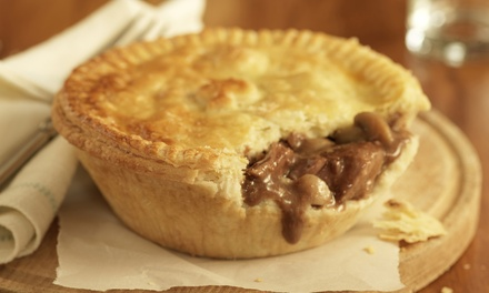 Choice of Pie with Optional Wine or Beer for Up to Four at Gardeners Arms