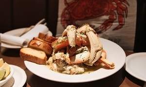 Up to 54% Off Crab Dinner at Capurro's, plus 6.0% Cash Back from Ebates.