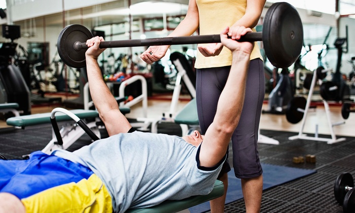 Ever-fitness - Goal Line Fitness: $120 for Weekly Personal Training Sessions for One Month at Ever-fitness ($320 Value)