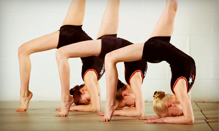 New Image Gymnastics - Brentwood: One Month of Gymnastics Classes for Ages 3–6, 7–8, or 9 and Older at New Image Gymnastics (Up to 54% Off)