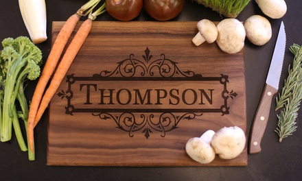 One or Two Custom Cutting Boards from Morgann Hill Designs (Up to 64% Off)
