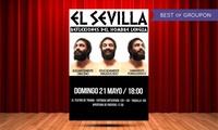 """Entrada al espectáculo """"Reflexiones del Hombre Lengua"""" de El Sevilla el domingo 21 de mayo por 7,50€ en Teatro de Triana"""