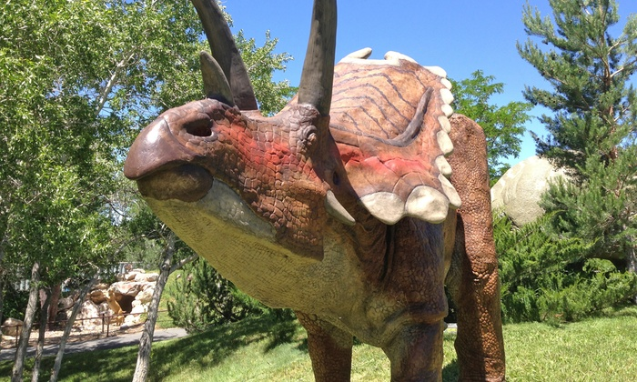 Ogden Eccles Dinosaur Park - Canyon Road: Admission for Two, Four, or Six to Ogden Eccles Dinosaur Park (Up to 52% Off)
