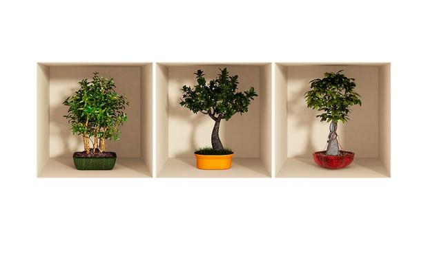 Vinilos decorativos 3d groupon goods for Vinilos decorativos 3d