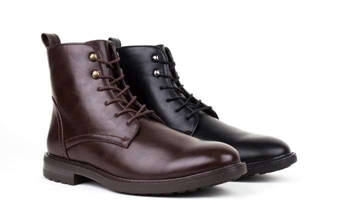 Braveman Men's Plain-Toe Boots