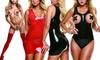 Latex Wear Thigh High, Teddy, or Mini Dress: Latex Wear Thigh High, Teddy, or Mini Dress