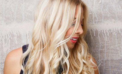 Haircut, <strong>Color</strong> or Partial Highlight, and Style at Bev's Salon (Up to 84% Off)
