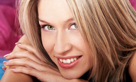 Women's Haircut Package With Optional Flash Highlights or All-Over Color at Innovative Looks (Up to 51% Off)