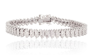 Diamond Accent Tennis Bracelet  at Diamond Accent Tennis Bracelet , plus 6.0% Cash Back from Ebates.