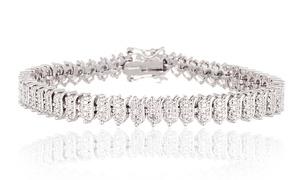Diamond Accent Tennis Bracelet  at Diamond Accent Tennis Bracelet , plus 9.0% Cash Back from Ebates.