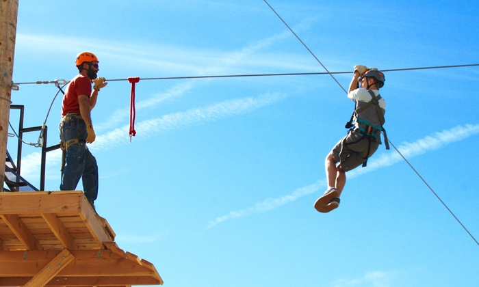 Zipline Utah - Zipline Utah: Zipline Tour with Photos for One or Two at Zipline Utah (Up to 41% Off)
