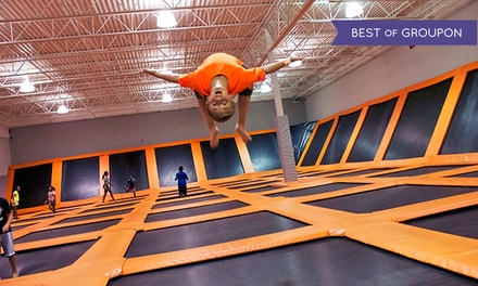 $16 for a OneHour Trampoline Session for Two at AirTime Trampoline ($24 Value)