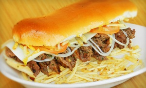 Sarussi Cafe Subs: Sub Sandwiches for Dine-In or Takeout at Sarussi Cafe Subs (Up to 40%  Off)