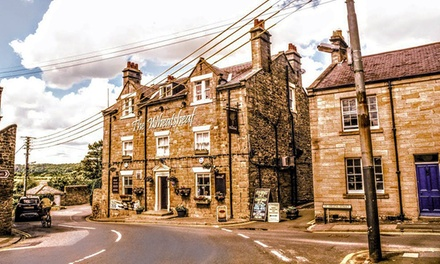 Corbridge: 2 or 3 Nights for Two with Meal at 4* Wheatsheaf Hotel