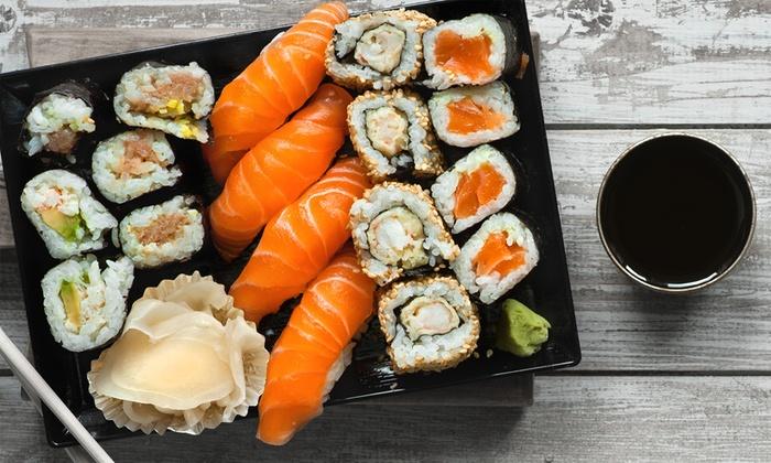 3 g nge sushi men f r zwei sushi samurai kirchheim. Black Bedroom Furniture Sets. Home Design Ideas