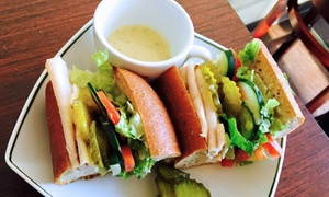 Sammy's Avenue Eatery: Sandwiches, Sides, and Beverages for Two or Catering at Sammy's Avenue Eatery (Up to 45% Off). Three Options Available.