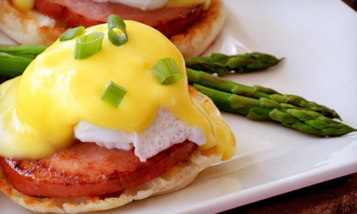 The Tea Room - Costa Mesa: Eggs-Benedict Breakfast and Orange Juice for Two or Four at The Tea Room (Half Off)