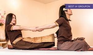 Jasmine Thai Yoga Massage: 60-Minute Thai-Yoga Massage for One or Two at Jasmine Thai Yoga Massage (41% Off)