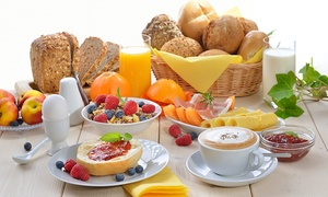 Café und Crepe Traber: Frühstücksplatte für 2 oder 4 Personen inkl. Kaffee-Flatrate im Café & Crepe Traber (bis zu 45% sparen*)
