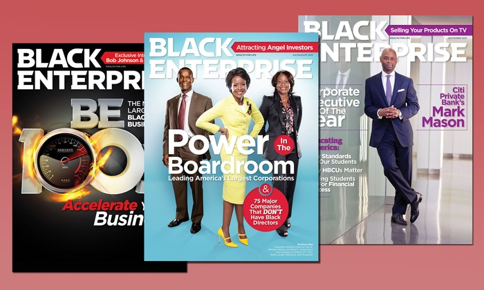 "Black Enterprise - New York City: One- or Two-Year Subscription to ""Black Enterprise Magazine"" (Up to 67% Off)"
