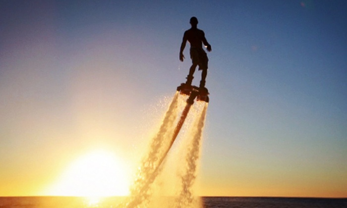 Flyboard Idaho Water Sport - Franklin - Randolph: 40-Minute Flyboard Flight Experience at Flyboard Idaho Water Sport (Up to $69 Off)