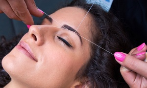 Amy's Beauty Salon: One or Three Eyebrow-Threading Sessions with Optional Upper Lip Threading Session at Amy's Beauty Salon (Up to 53% Off)