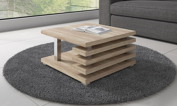 table basse oslo groupon shopping. Black Bedroom Furniture Sets. Home Design Ideas