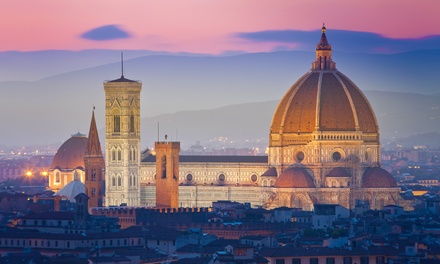 ✈ Florence: 24 Nights at Meridiana Hotel with Breakfast and Flights*