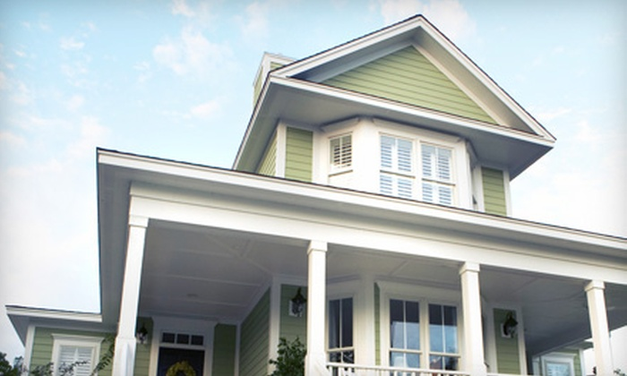 Deck It Out - Edmonton: Window or Gutter Cleaning Services from Deck It Out (Up to 57% Off). Six Options Available.