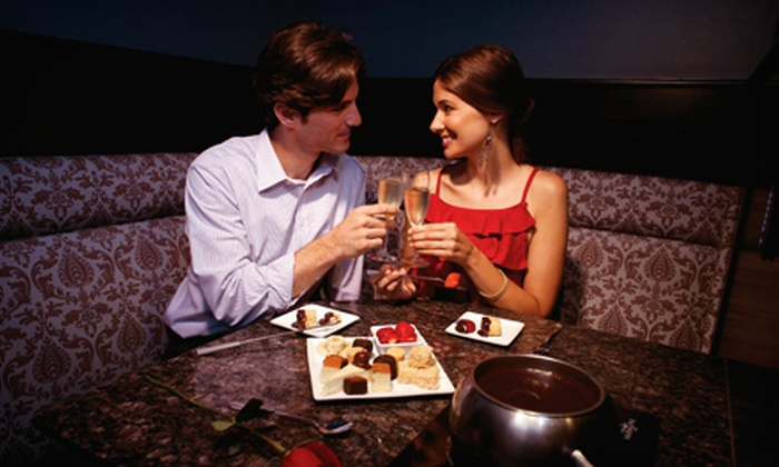 The Melting Pot - Avenue Viera: Fondue Dinner for Two with Salads, Entrees and Wine at The Melting Pot (Up to Half Off)