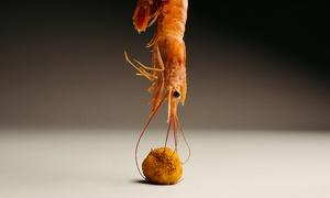Creoquete: Degustación para 2 o 4 con croquetas y bebida del chef Alejandro Urrutia con Estrella Michelin desde 5,90 € en Creoquete