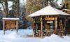 Upscale Lodge amid the Adirondacks