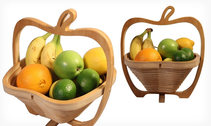 Collapsible Bamboo Fruit Basket: $14.99 for a Collapsible Bamboo Fruit Basket ($34.95 List Price). Free Returns.