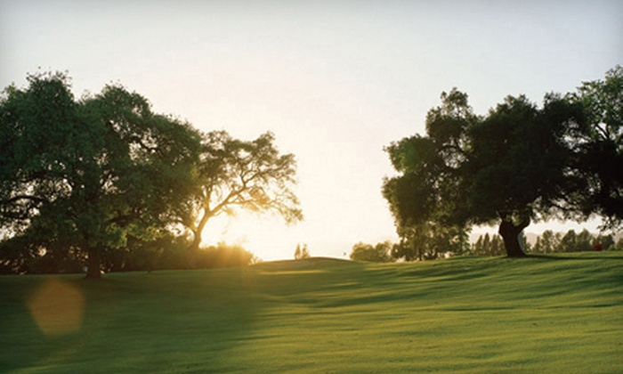 Ojai Valley Inn & Spa - Ojai: $89 for a Round of Golf with Cart, Bucket of Balls, and a Beer at Ojai Valley Inn & Spa (Up to $186 Value)