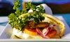 Delphi Greek - Westwood: Lunch or Dinner for Two or Four at Delphi Greek (53% Off)