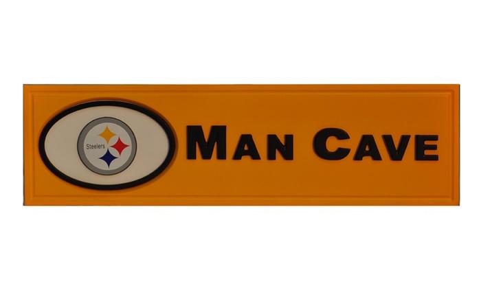 Man Cave Store Coastal Grand Mall : Nfl man cave plaques groupon goods