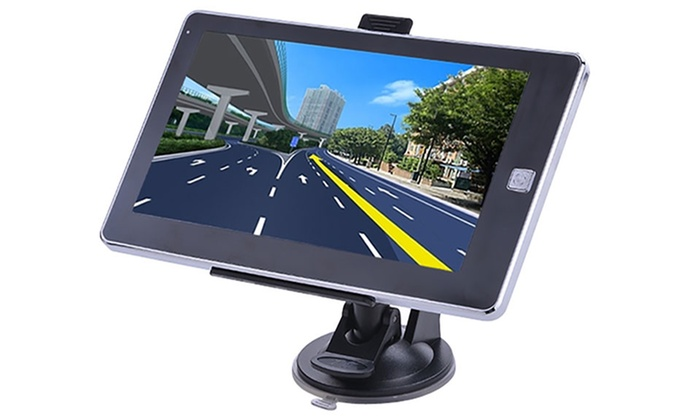 Groupon Goods Global GmbH: Appareil GPS multimédia, tactile avec fonction Bluetooth