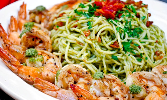 Pesto Restaurant - Villages of Palm Beach Lakes: Italian Cuisine and Drinks at Pesto Restaurant (50% Off). Two Options Available.