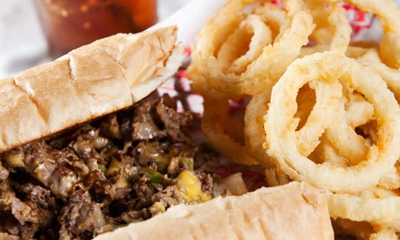 Up to 50% Off Food and Drinks at Fat's Philly Cheese Steaks
