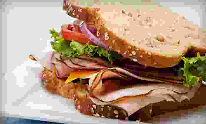 Jitters Cafe - Oak Grove - Pine Banks: $10 for $20 Worth of Paninis and Coffee at Jitters Cafe