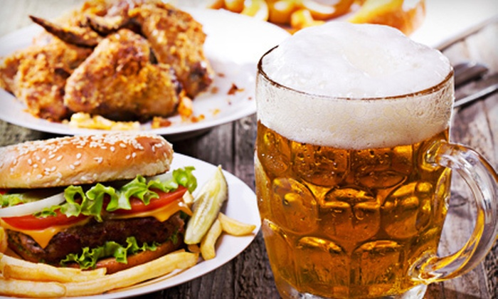 Sacramento Bulls Restaurant & Bar - Central Sacramento: Bull-Riding Outing for Two or Four with Appetizers, and Beer at Sacramento Bulls Restaurant & Bar (Up to 56% Off)