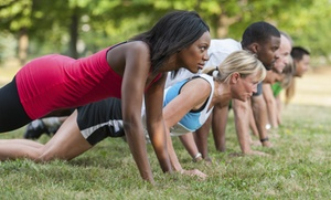 The Bella Fitness Group: 10 Boot-Camp Classes or a Month of Unlimited Boot-Camp Classes at The Bella Fitness Group (Up to 79% Off)