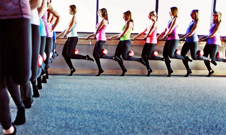 Four or Six Weeks of Unlimited Barre Fitness Classes at Pure Barre (Up to 67% Off)