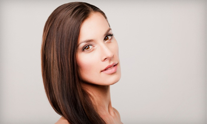 Serenity Styles - Delray Beach: Haircut with Deep Conditioning, Partial Highlights, or All-Over Color at Serenity Styles (Up to 59% Off)