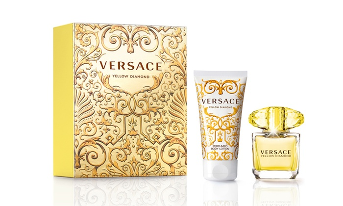 Versace Yellow Diamond Gift Set | Groupon Goods