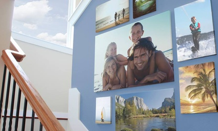 "One 8""x10"", 11""x14"", 16""x20"", or 18""x24"" Canvas Print from Easy Canvas Prints (Up to 77% Off)"